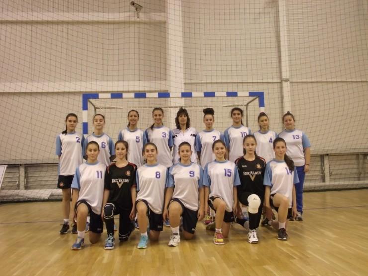 """Отбор ХК """"Сливница"""" девойки (14 години) 2015г."""